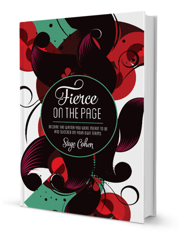 Fierce on the Page by Sage Cohen